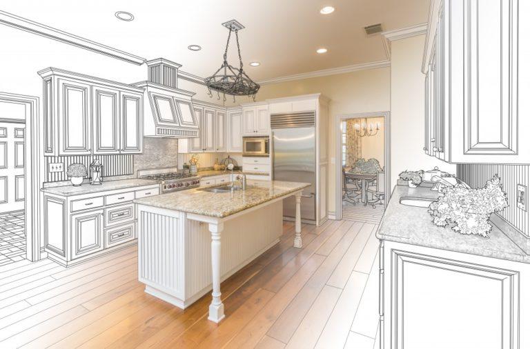 kitchen remodel concept